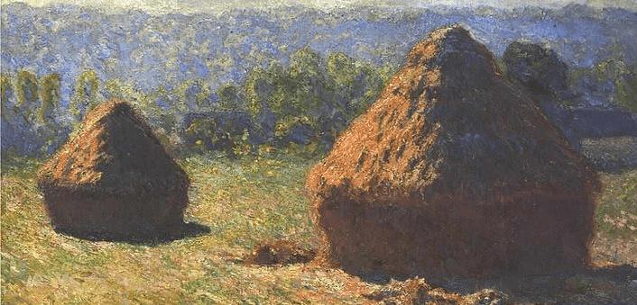 Monet Haystacks summer cropped