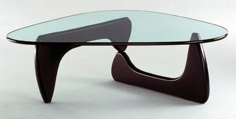 It's a designer table ... get it? ...