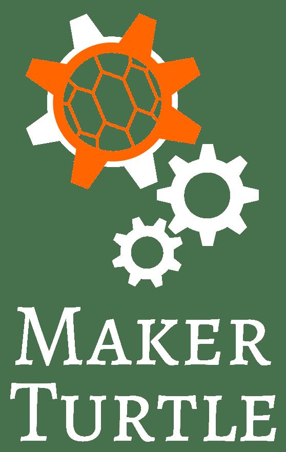 MakerTurtle 1906 TitleNoTag V OrangeOnWhite