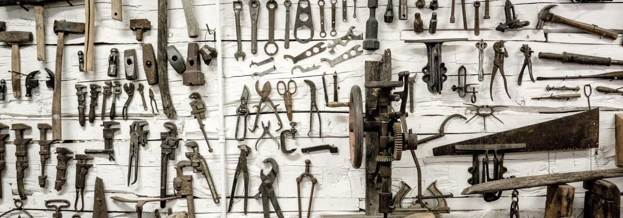 Too many tools ...